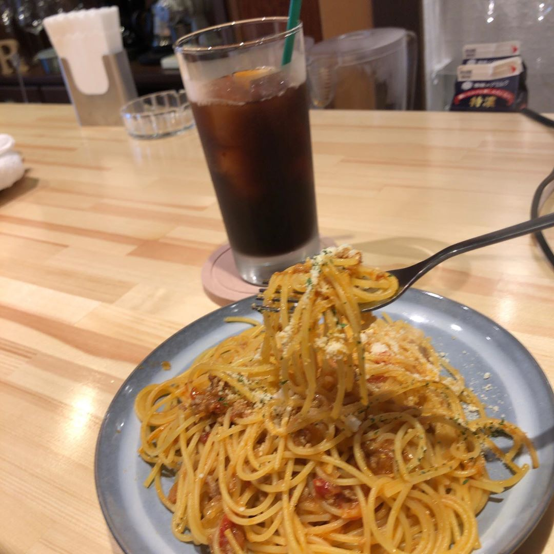 @cafeR_20190603  ランチパスタセット #CafeR