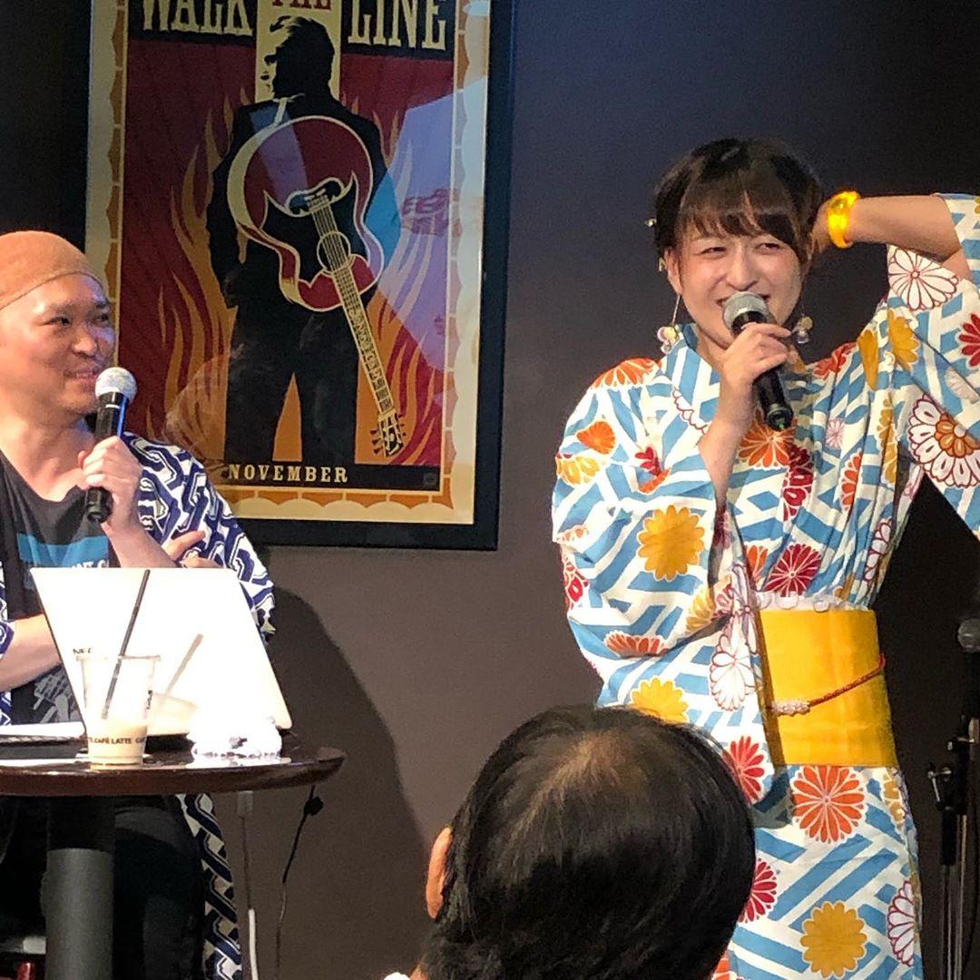 Soap opera classics -Umeda-浴衣祭り2019 @mayu_n0117  佐川真由
