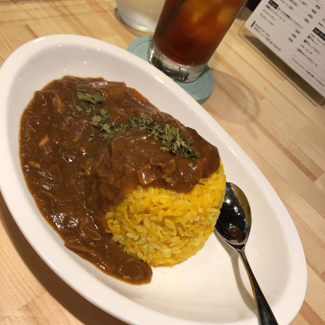 @cafeR_20190603  カレーライス #Cafe R