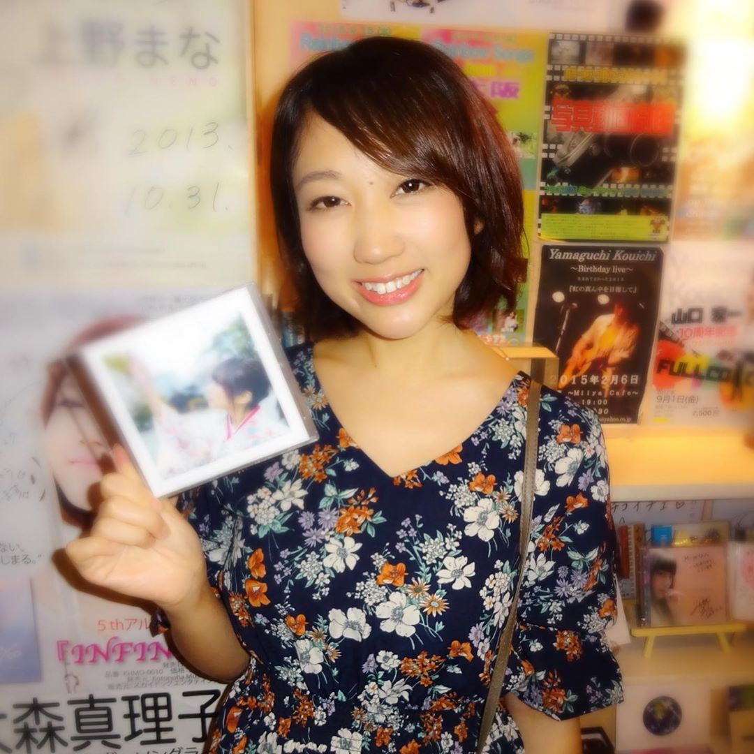 シンガーソングライター @seri_kana  せりかなちゃん 2019/09/13 銀座ミーヤカフェ