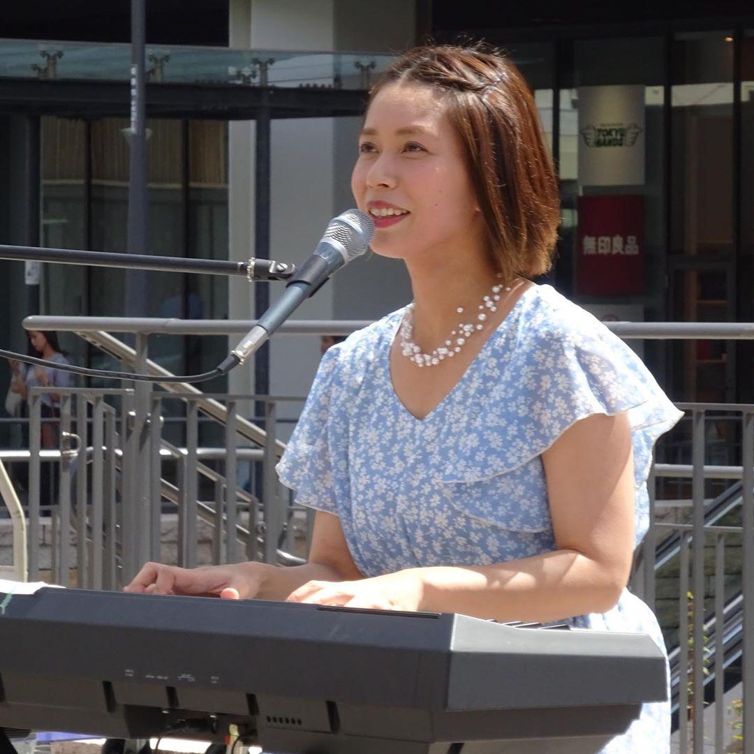 姫路キャッスルガーデン北広場  シンガーソングライター@minamisayasaya 南紗椰  関西遠征  明日は神戸CASHBOX